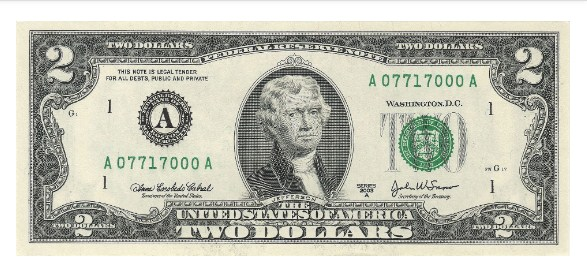 to 2 USD series 2003